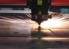 Высокая скорость при резке 1мм стали.
