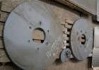 Сталь 65Г, толщина 8мм, диски пилы диаметром 1200мм