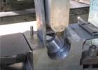 Принудительная гибка 8мм горячекатанной стали, инструменты собственного изготовления